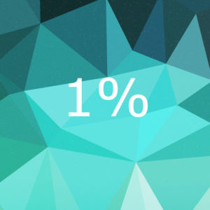 1% crypto profit